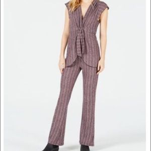 Free People In Your Eyes Pants Suit Set Size Med